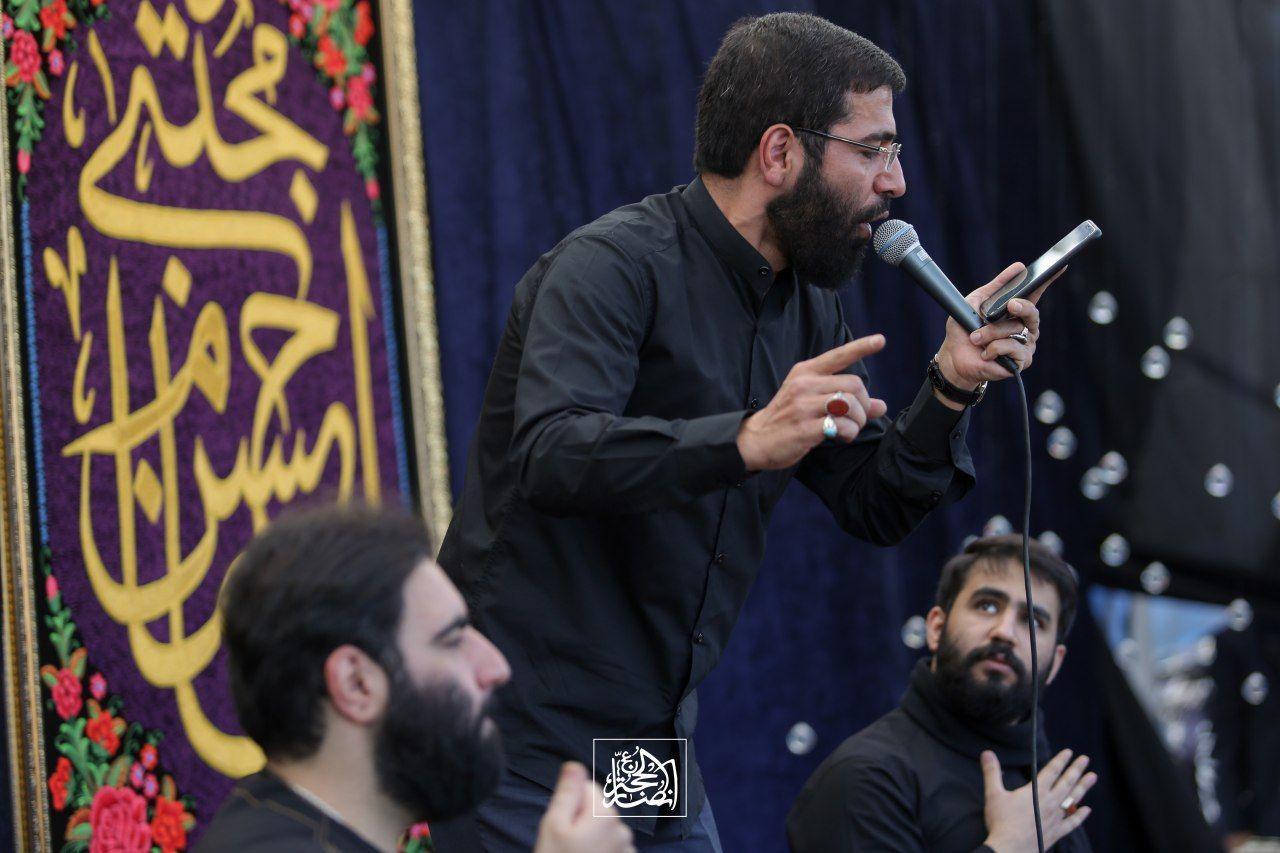 حاج امیر کرمانشاهی - روز پنجم عزاداری آخر صفر 99