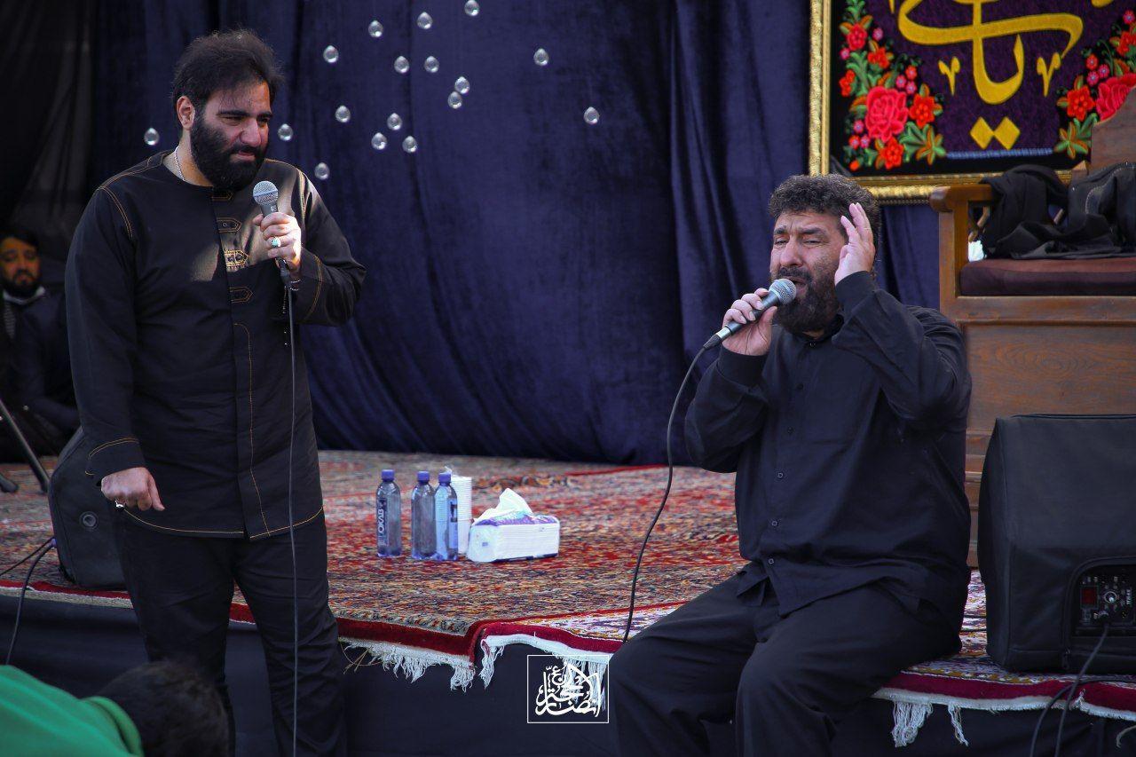 حاج امیر کرمانشاهی - روز چهارم عزاداری آخر صفر 99