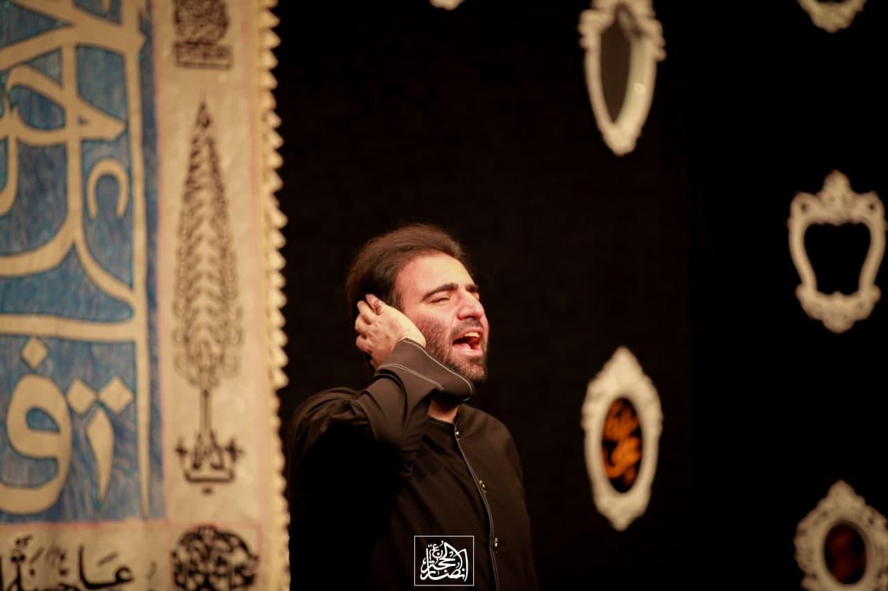 حاج امیر کرمانشاهی - شب شهادت حضرت زهرا سلام الله علیها 75 روز 99